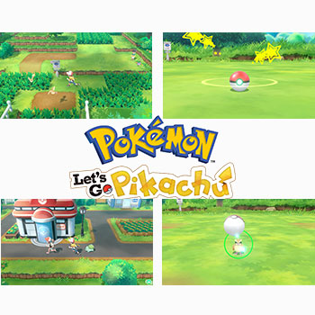 Pokémon: Let's Go, Pikachu! + Pokéball Plus (Nintendo Switch)