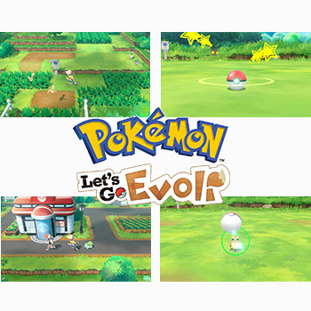 Pokémon: Let's Go, Évoli!+ Pokéball Plus (Nintendo Switch)