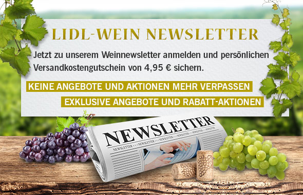 Lidl-Wein Newsletter