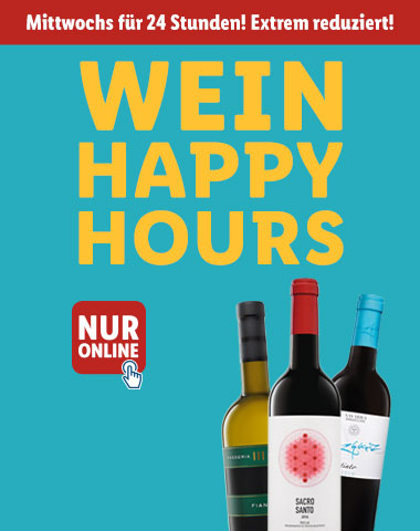 Wein Happy Hours