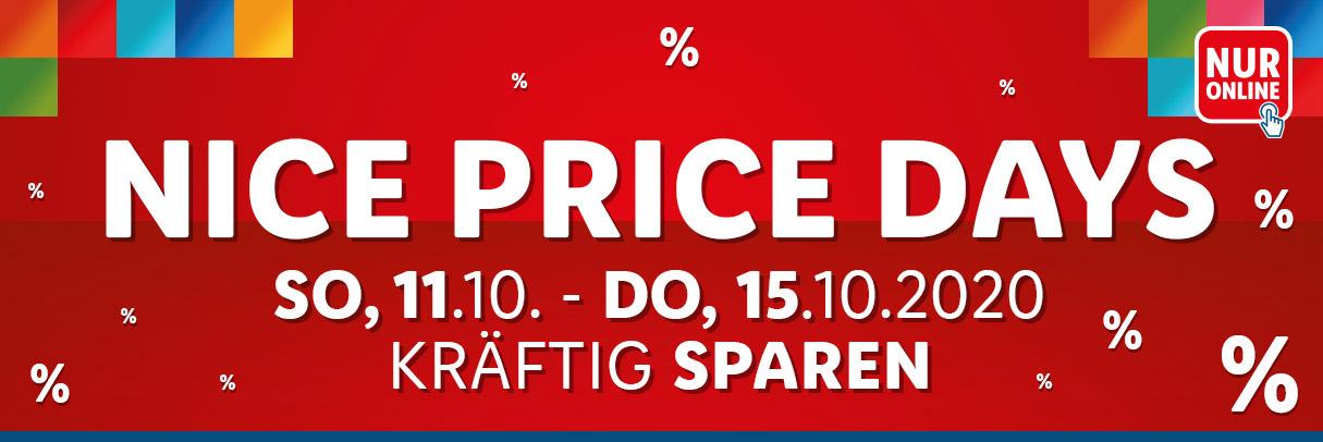 Nice Price Days