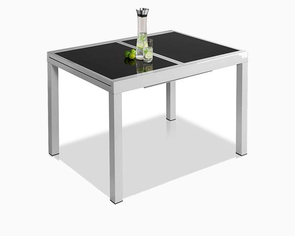 Florabest Florabest Gartentisch Houston Aluminium Ausziehbar Grau Lidl De