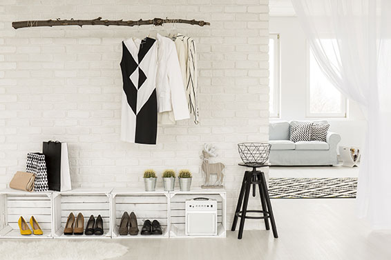 stauraum schaffen 8 tipps f r kleine wohnungen lidl deutschland. Black Bedroom Furniture Sets. Home Design Ideas