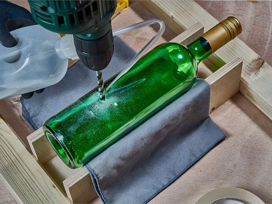 Berühmt Glas bohren in 7 Schritten - Lidl.de HH78