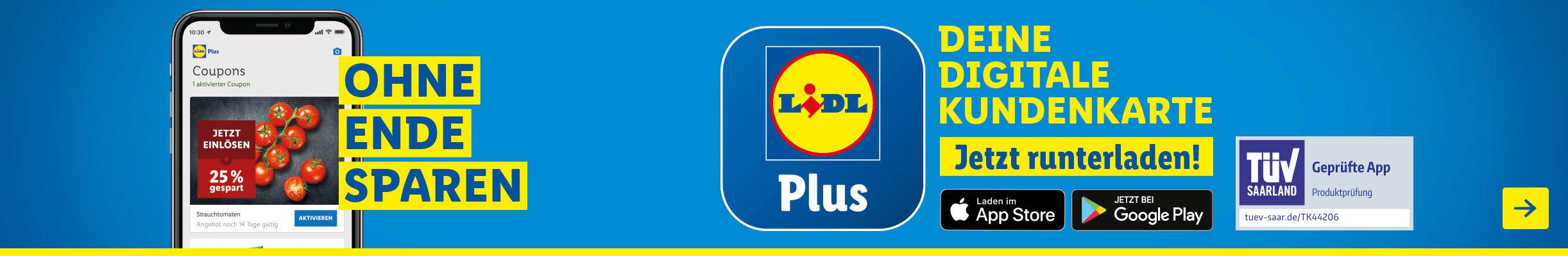 Lidl Plus - Deine digitale Kundenkarte