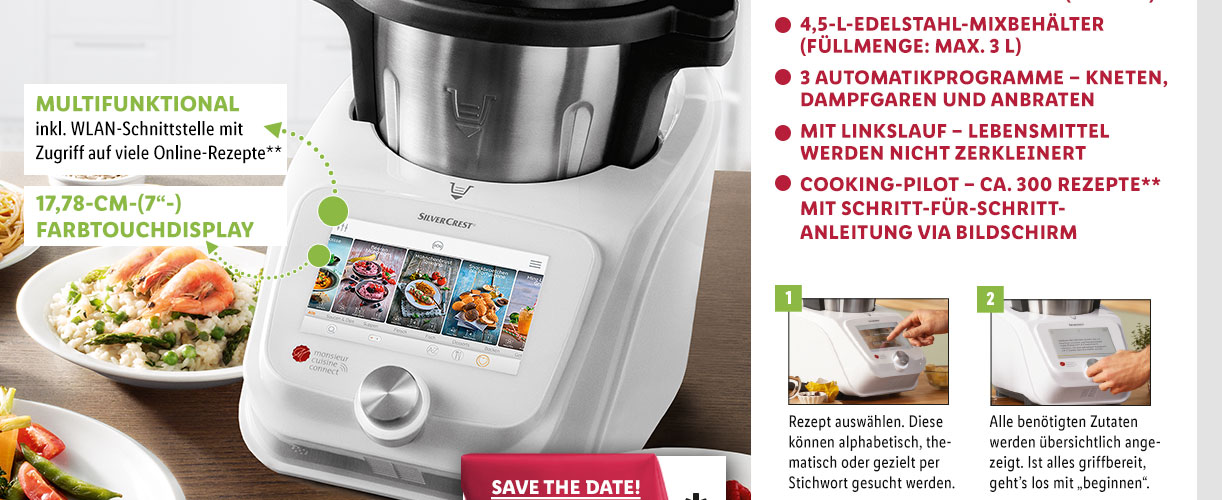 Monsieur Cuisine Connect Imitación De Thermomix By Lidl
