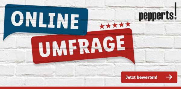 Pepperts-Umfrage-Banner von Lidl.de - Jetzt teilnehmen