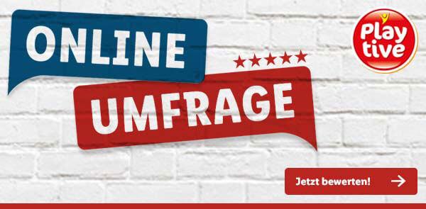 Playtive-Umfrage-Banner von Lidl.de - Jetzt teilnehmen