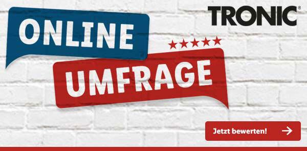 Tronic-Umfrage-Banner von Lidl.de - Jetzt teilnehmen