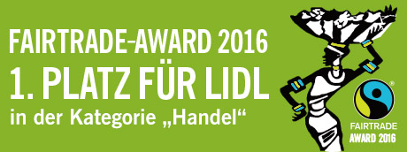 Fairtrade Award 2016