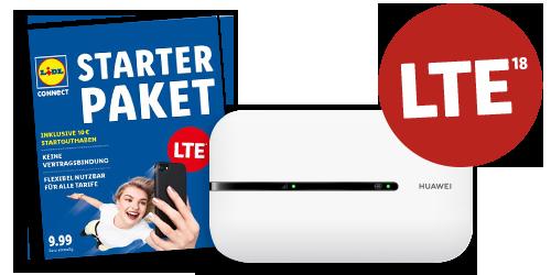 Der mobile Lidl Connect WLAN-Hotspot