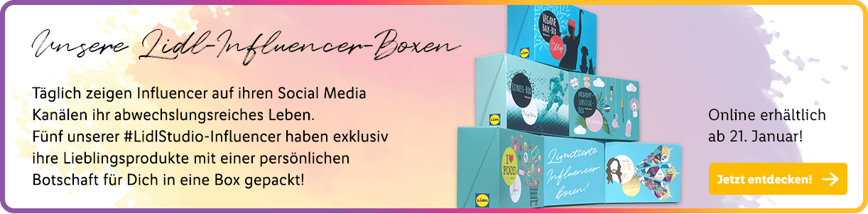 Lidl Influencer Boxen