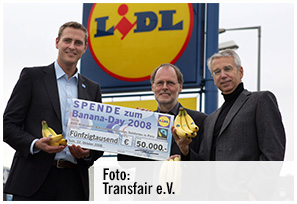 Fairtrade Banana Day (Faire Woche 2008)