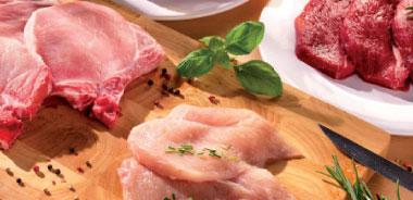 Fleischwaren, Saucen, Grillzubehör